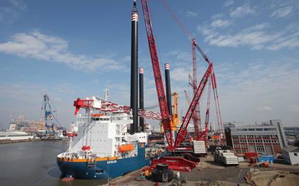 Offshore | Mammoet| Lifting and Transport