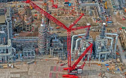 Petrochemical   Mammoet   Your World