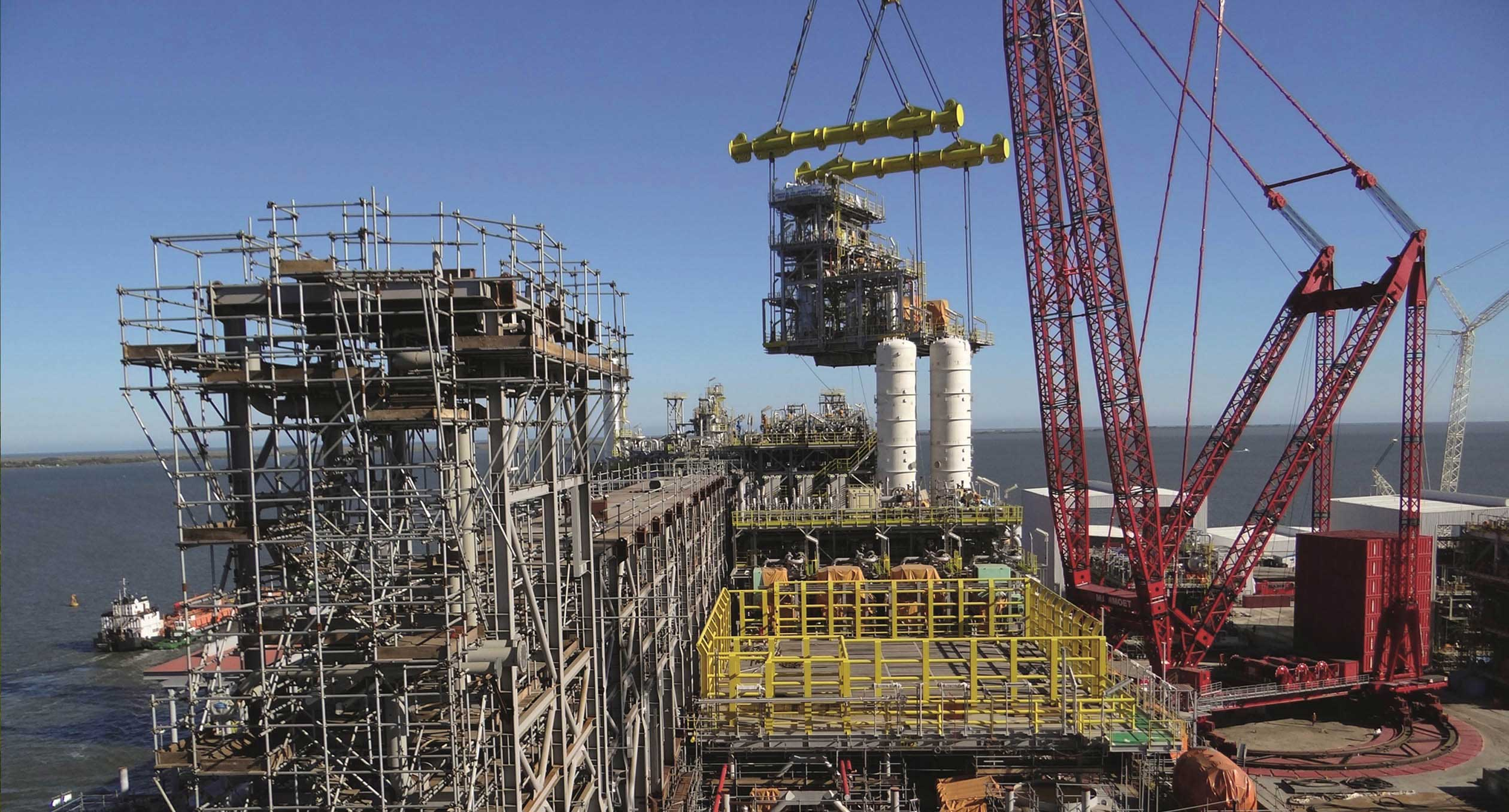 Project Fpso Mammoet Offshore Modular Construction