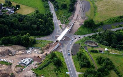 Civil infrastructure – heavy lifting and transport expertise | Mammoet