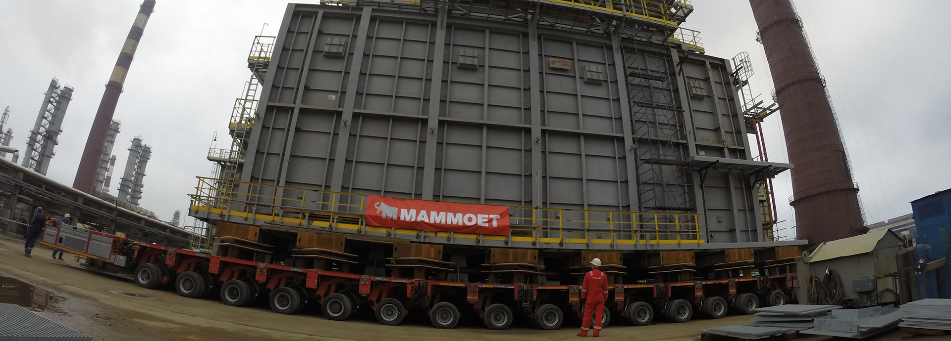 Mammoet - The Biggest Thing We Move Is Time