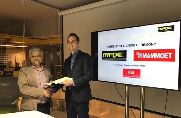 Max Power working with Mammoet to bring power to Bangladesh