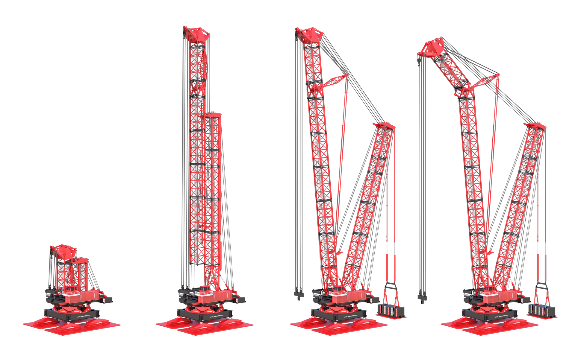 Due to the innovative vertical assembly method, the Y-Frame Focus can be fully assembled from an extremely small base.