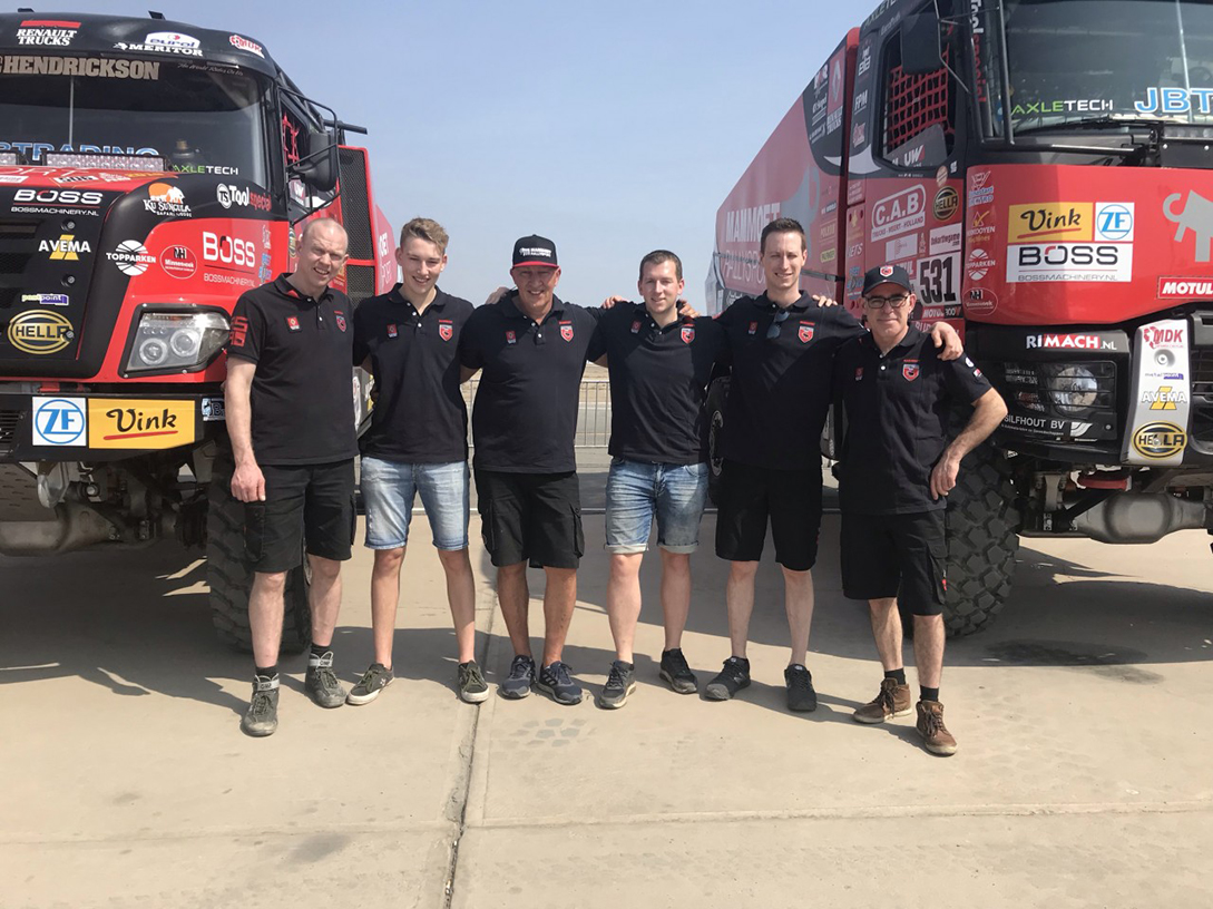 Mammoet Rallysports Grand Send Off For The 41st Dakar Rally